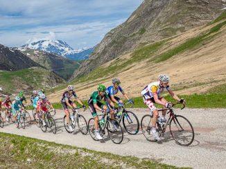 Motionscykelløb i Alperne