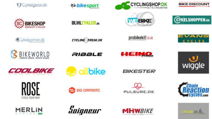 Forhandlere af cykeludstyr