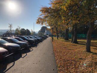 Båstad - Cykling - Parkering ved lystbådhavnen