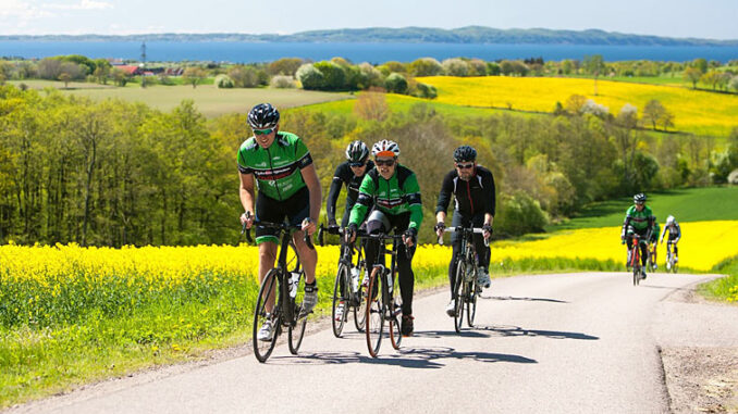 Cykelruter på Hallandsåsen