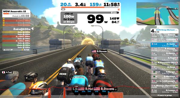 Zwift - sådan kommer du igang - Indendørs cykling på Zwift - Copyright Zwift