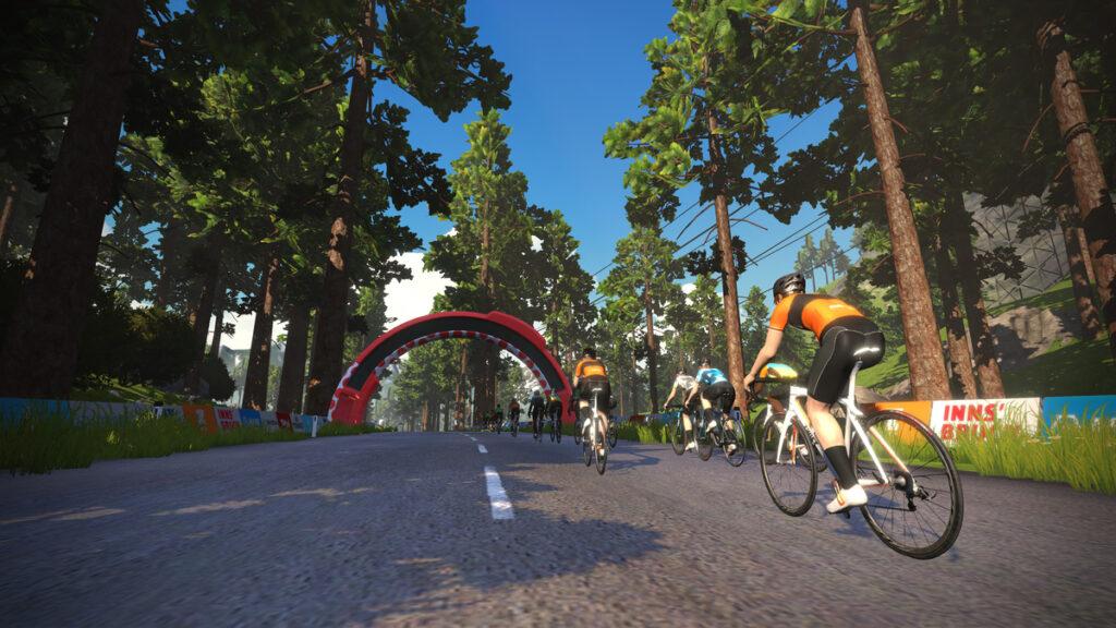 Zwift Innsbruck - cykelruter