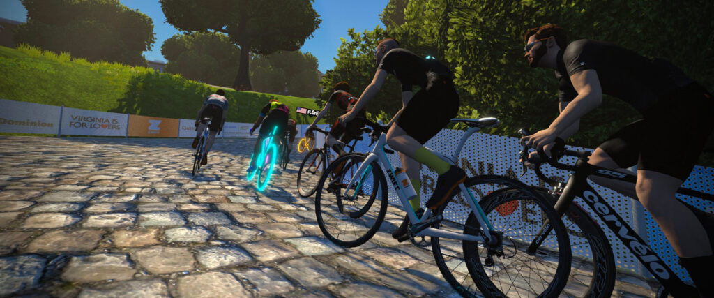 Zwift Richmond - Copyright Zwift